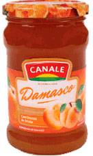 MERMELADA CANALE DAMASCO x454Grs