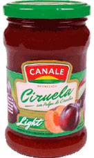 MERMELADA CANALE LIGHT CIRUELA x390Grs