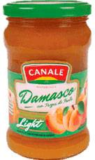 MERMELADA CANALE LIGHT DAMASCO x390Grs