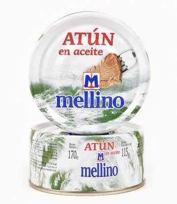 ATUN EN ACEITE MELLINO x170Grs