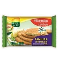 MILANESA SOJA GRANJA DEL SOL CASERA FAMILIAR x660Grs