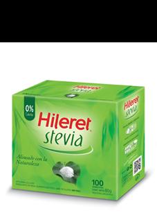 HILERET STEVIA x100 SOBRES