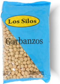 GARBANZOS LOS SILOS x350Grs