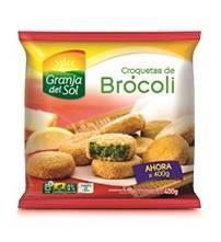 CROQUETA BROCOLI GRANJA DEL SOL x400Grs