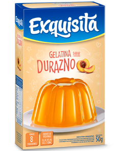 GELATINA EXQUISITA DURAZNO x50Grs
