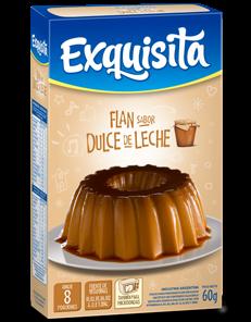 FLAN EXQUISITA DULCE DE LECHE x60Grs