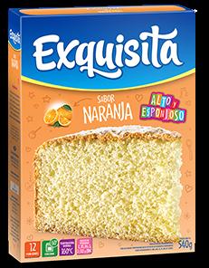 BIZCOCHUELO EXQUISITA NARANJA x540Grs