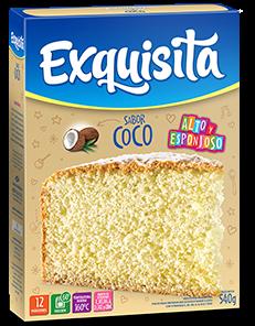 BIZCOCHUELO EXQUISITA COCO x540Grs