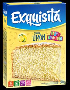 BIZCOCHUELO EXQUISITA LIMON x540Grs