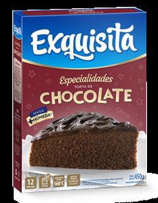 TORTA EXQUISITA CHOCOLATE x450Grs