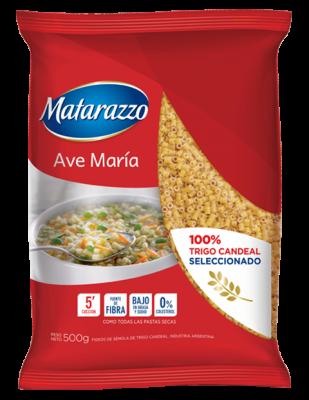 FIDEOS MATARAZZO AVE MARIA  x500Grs