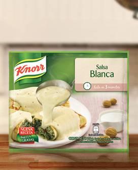 SALSA KNORR 3 MINUTOS BLANCA x22Grs