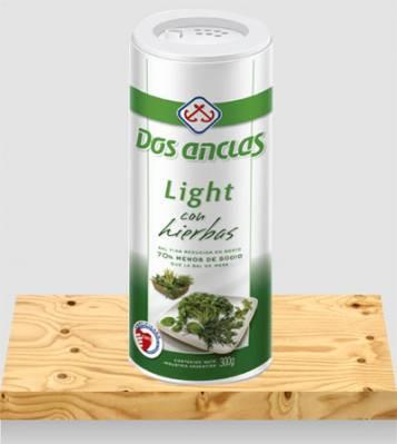 SAL LIGHT DOS ANCLAS C/HIERBAS x300Grs