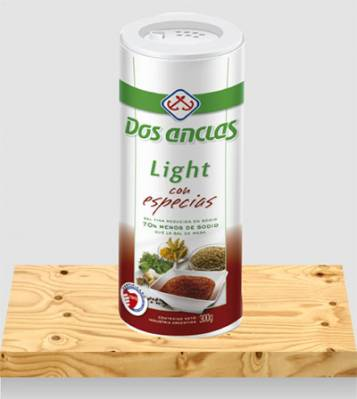 SAL LIGHT DOS ANCLAS C/ESPECIAS x300Grs