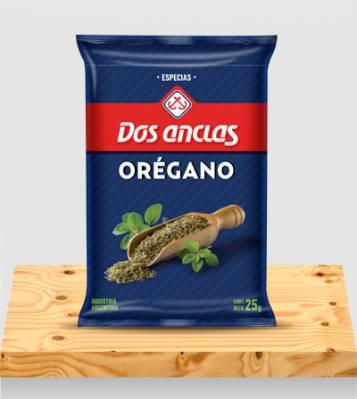 OREGANO DOS ANCLAS BOLSA 6x25Grs