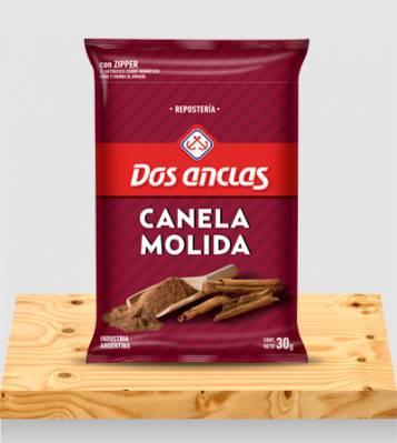 CANELA MOLIDA DOS ANCLAS BOLSA 6x30Grs